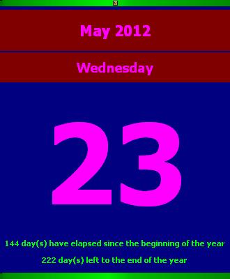calendar page2