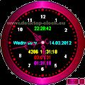 desktop clock home page