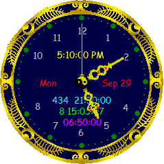 Latest version of the clock